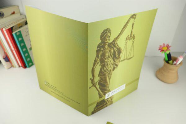 Carpeta para abogados