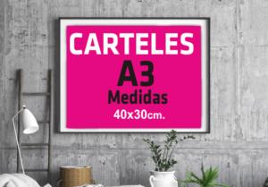 imprenta online barata carteles a3