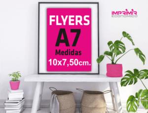 imprenta online barata flyers a7