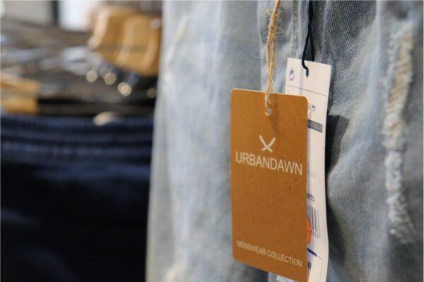 etiquetas de cartón colgantes para ropa