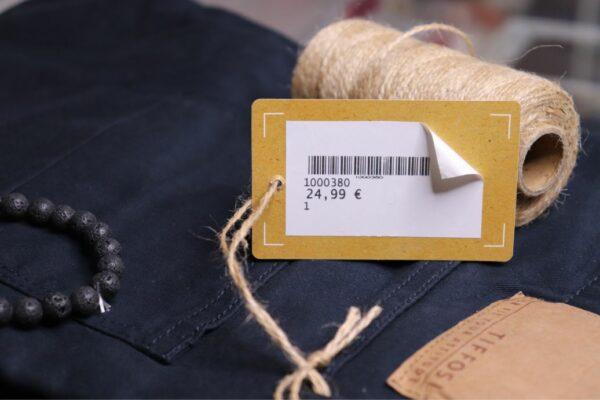 etiquetas para ropa de tela