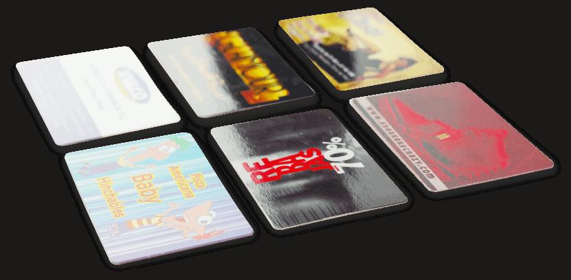 tarjetas de visita brillo baratas