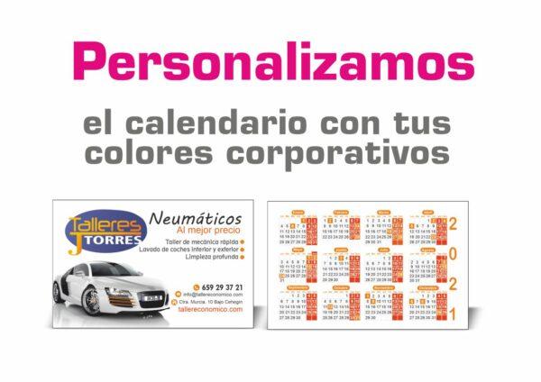 Calendarios de bolsillo baratos