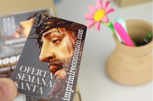 Estampas de Semana Santa plastificadas imprimir economico