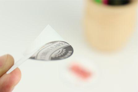 Pegatinas Circulares o Redondas en papel